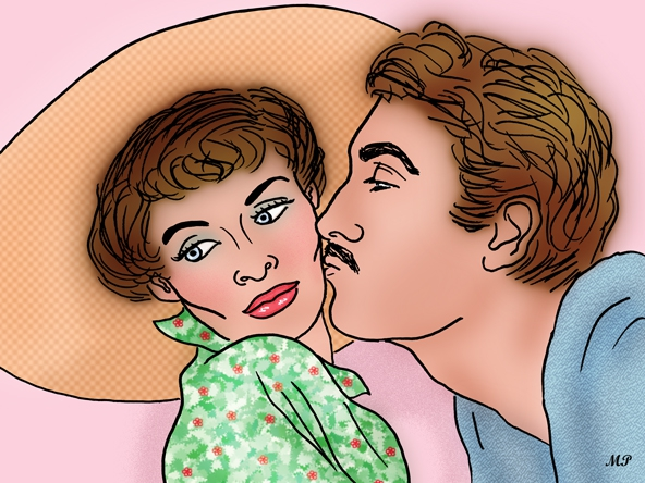 Brian Aherne, Katharine Hepburn por MP69